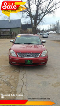 2007 Ford Five Hundred for sale at Shamrock Auto Brokers, LLC in Belmont NH