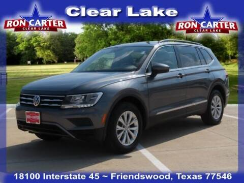2018 Volkswagen Tiguan for sale at Ron Carter  Clear Lake Used Cars in Houston TX