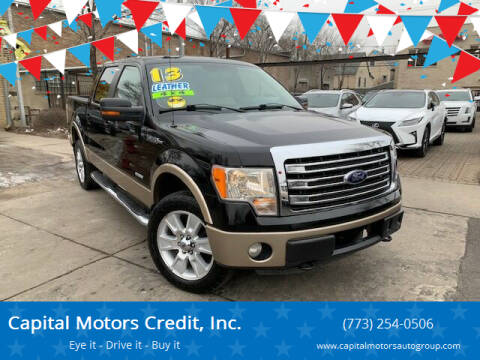 2013 Ford F-150 for sale at Capital Motors Credit, Inc. in Chicago IL