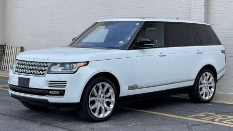 2015 Land Rover Range Rover for sale at Carland Auto Sales INC. in Portsmouth VA