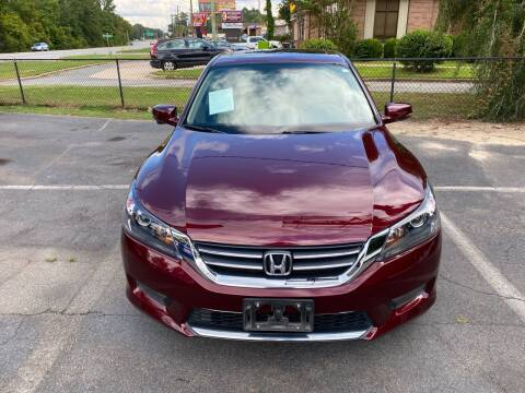 2015 Honda Accord for sale at J Franklin Auto Sales in Macon GA