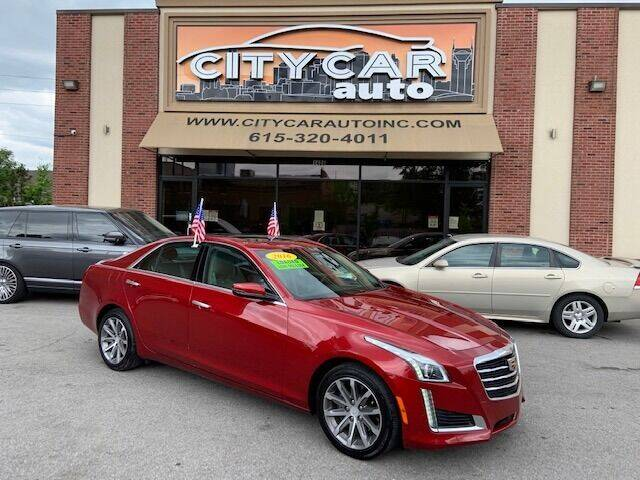 2016 Cadillac CTS for sale at CITY CAR AUTO INC in Nashville TN
