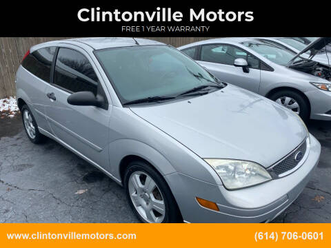 2007 Ford Focus for sale at Clintonville Motors in Columbus OH