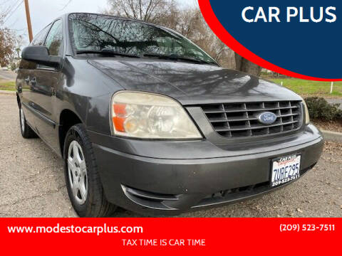 2006 Ford Freestar for sale at CAR PLUS in Modesto CA