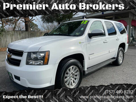 2012 Chevrolet Tahoe Hybrid for sale at Premier Auto Brokers in Virginia Beach VA