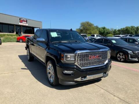 2018 GMC Sierra 1500 for sale at KIAN MOTORS INC in Plano TX