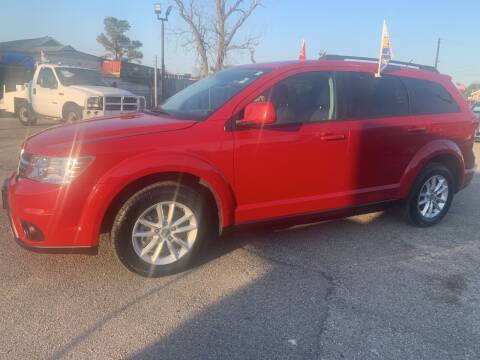 2016 Dodge Journey for sale at FAIR DEAL AUTO SALES INC in Houston TX