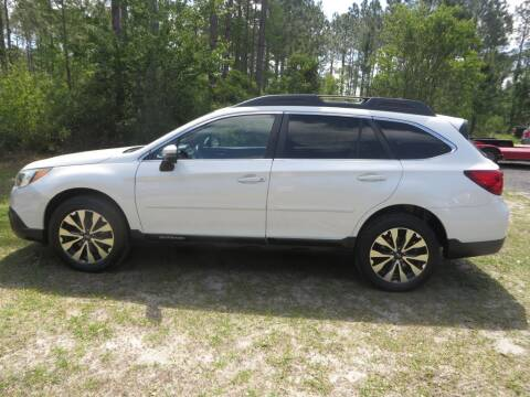 2016 Subaru Outback for sale at Ward's Motorsports in Pensacola FL