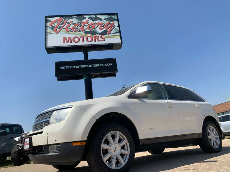 2007 Lincoln MKX for sale at Victory Motors in Waterloo IA