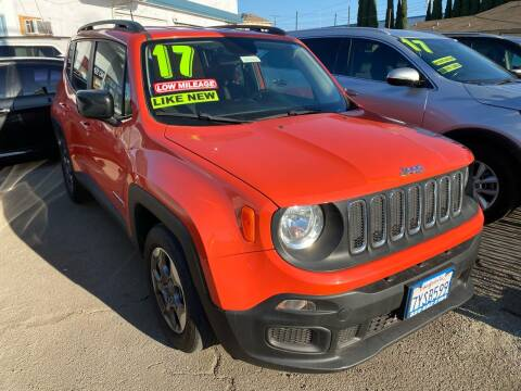 2017 Jeep Renegade for sale at CAR GENERATION CENTER, INC. in Los Angeles CA