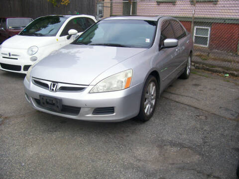 2006 Honda Accord for sale at Dambra Auto Sales in Providence RI