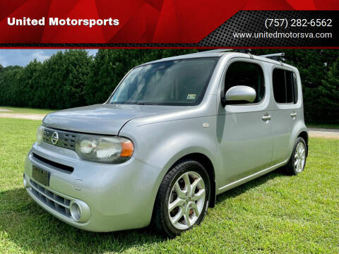 2009 Nissan cube for sale at United Motorsports in Virginia Beach VA