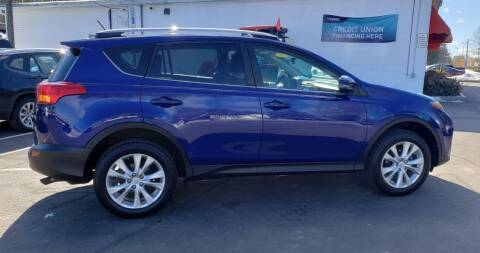 2014 Toyota RAV4 for sale at Healey Auto in Rochester NH