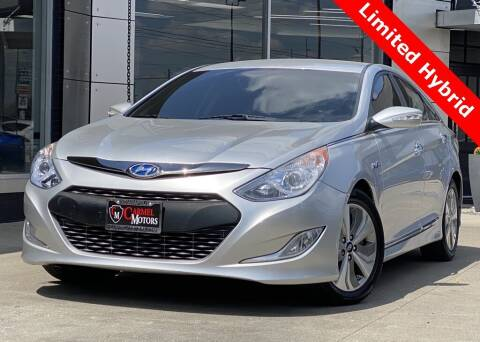 2013 Hyundai Sonata Hybrid for sale at Carmel Motors in Indianapolis IN