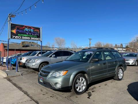 2009 Subaru Outback for sale at AWD Denver Automotive LLC in Englewood CO