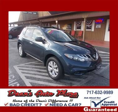 2013 Nissan Murano for sale at Dean's Auto Plaza in Hanover PA