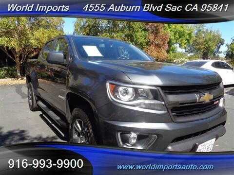2016 Chevrolet Colorado for sale at World Imports in Sacramento CA