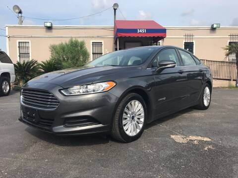 2016 Ford Fusion Hybrid for sale at Saipan Auto Sales in Houston TX
