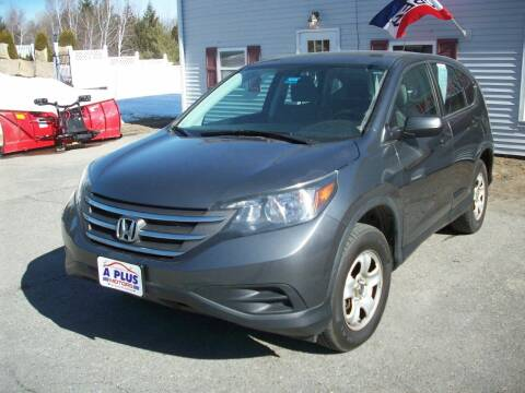 2014 Honda CR-V for sale at A-Plus Motors in Alton ME