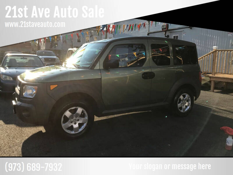 2005 Honda Element for sale at 21st Ave Auto Sale in Paterson NJ