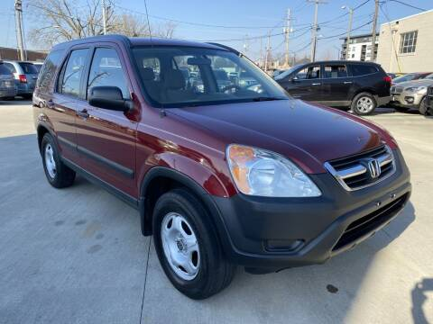 2002 Honda CR-V for sale at EURO MOTORS AUTO DEALER INC in Champaign IL