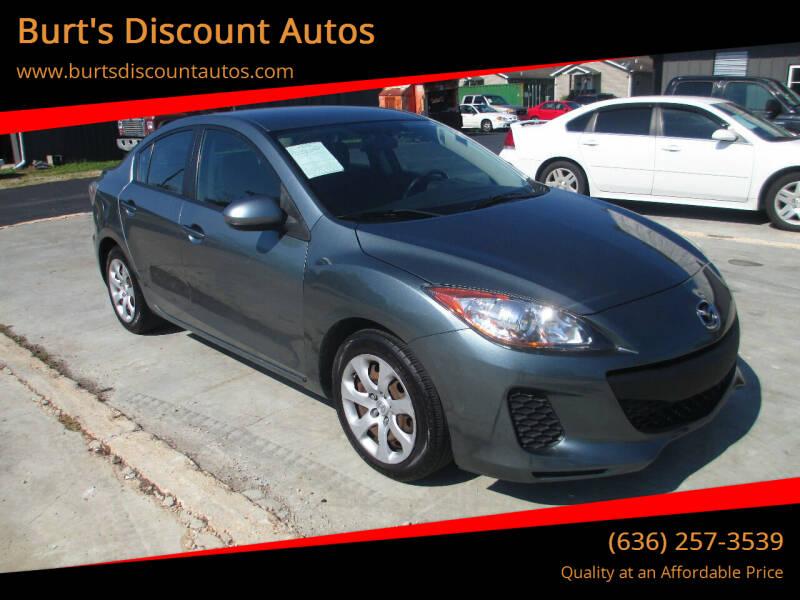 2012 Mazda MAZDA3 for sale at Burt's Discount Autos in Pacific MO