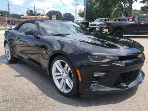 2018 Chevrolet Camaro for sale at Creekside Automotive in Lexington NC