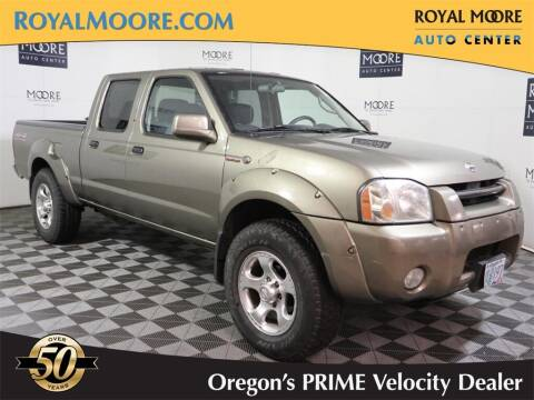 2002 Nissan Frontier for sale at Royal Moore Custom Finance in Hillsboro OR