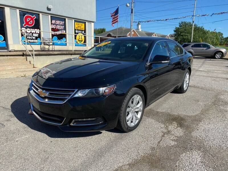 2018 Chevrolet Impala for sale at Bagwell Motors in Lowell AR