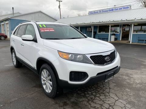 2011 Kia Sorento for sale at HACKETT & SONS LLC in Nelson PA