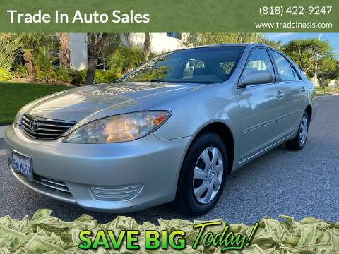 2005 Toyota Camry for sale at Trade In Auto Sales in Van Nuys CA