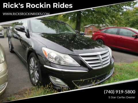 2012 Hyundai Genesis for sale at Rick's Rockin Rides in Reynoldsburg OH