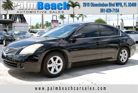2007 Nissan Altima for sale at Palm Beach Automotive Sales in West Palm Beach FL