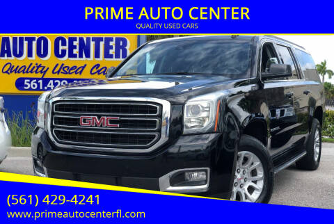 2017 GMC Yukon XL for sale at PRIME AUTO CENTER in Palm Springs FL