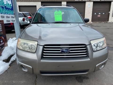 2006 Subaru Forester for sale at Story Brothers Auto in New Britain CT