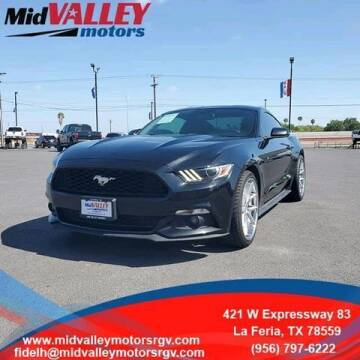 2016 Ford Mustang for sale at Mid Valley Motors in La Feria TX