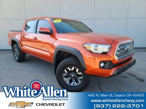 2017 Toyota Tacoma for sale at WHITE-ALLEN CHEVROLET in Dayton OH