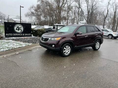 2011 Kia Sorento for sale at Station 45 Auto Sales Inc in Allendale MI