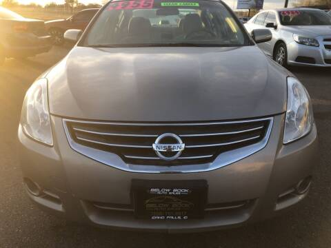 2012 Nissan Altima for sale at BELOW BOOK AUTO SALES in Idaho Falls ID