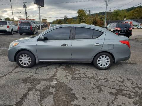 2012 Nissan Versa for sale at Knoxville Wholesale in Knoxville TN