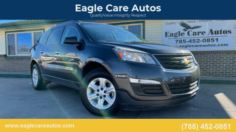 2013 Chevrolet Traverse for sale at Eagle Care Autos in Mcpherson KS