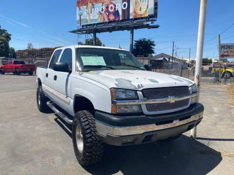 2004 Chevrolet Silverado 1500 for sale at El Compadre Auto Plaza in Modesto CA