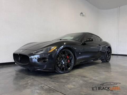 2009 Maserati GranTurismo for sale at BLACK LABEL AUTO FIRM in Riverside CA