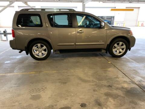 2008 Nissan Armada for sale at JMAC AUTO SALES in Houston TX