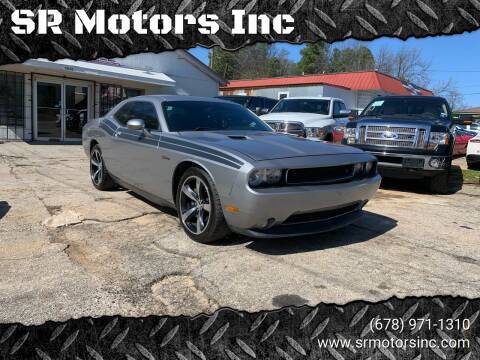 2014 Dodge Challenger for sale at SR Motors Inc in Gainesville GA
