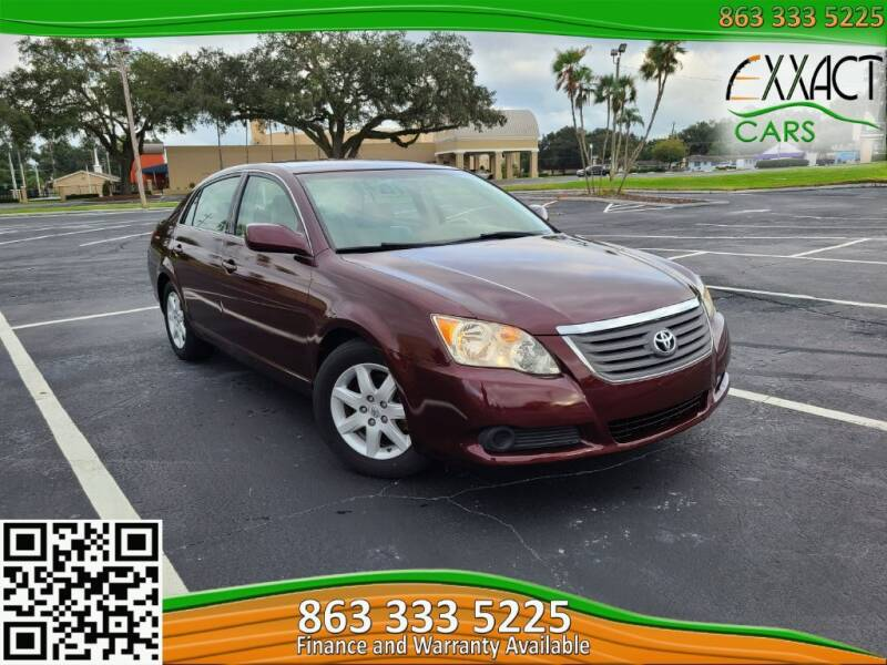 2008 Toyota Avalon for sale at Exxact Cars in Lakeland FL