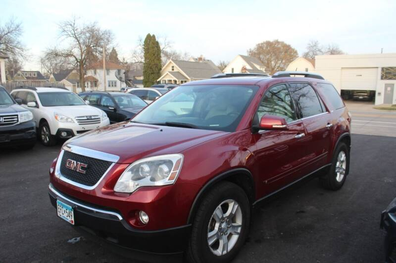 2009 GMC Acadia for sale at Rochester Auto Mall in Rochester MN