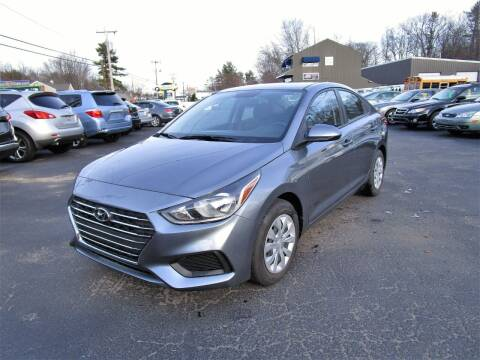 2019 Hyundai Accent for sale at Route 12 Auto Sales in Leominster MA