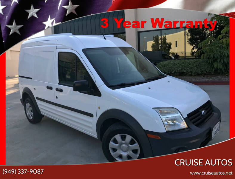 2013 Ford Transit Connect for sale at Cruise Autos in Corona CA