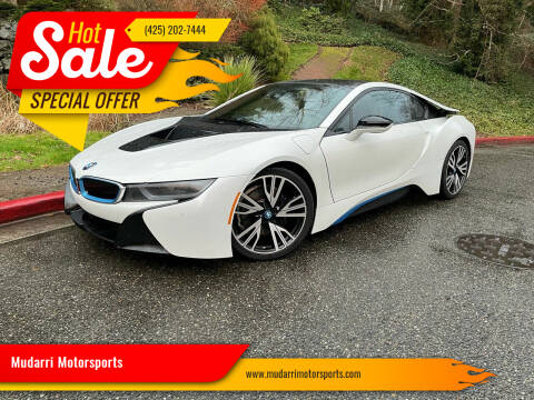 2015 BMW i8 for sale at Mudarri Motorsports in Kirkland WA